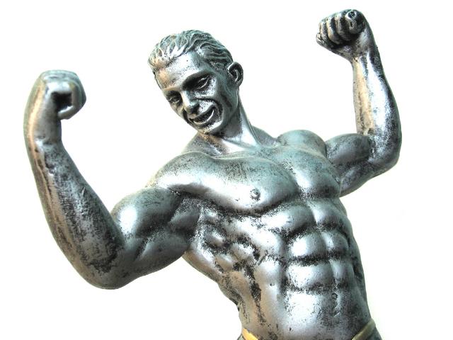Silný muž, socha